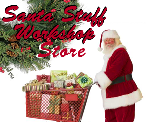 Letter from Santa website has a store with items that can be purchased for Christmas